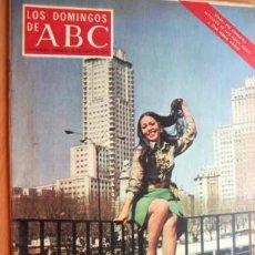 Coleccionismo de Los Domingos de ABC: LOS DOMINGOS DE ABC - 27 DE ABRIL DE 1969 - EN PORTADA- MASSIEL (7 PÁGINAS). Lote 17416656