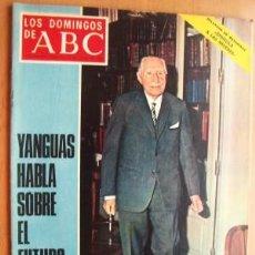 Coleccionismo de Los Domingos de ABC: LOS DOMINGO DE ABC -13 DE JULIO DE 1969 -EN PORTADA- YANGUAS HABLA SOBRE EL FUTURO DE ESPAÑA . Lote 17559958