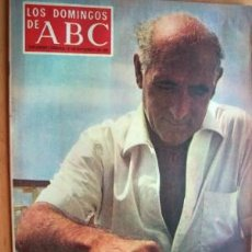 Coleccionismo de Los Domingos de ABC: LOS DOMINGOS DE ABC - 21 DE SEPTIEMBRE DE 1969 - EN PORTADA- JOSE MARIA GIRONELLA . Lote 17624123
