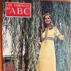 Coleccionismo de Los Domingos de ABC: LOS DOMINGOS DE ABC - 28 DE SEPTIEMBRE DE 1969 -EN PORTADA- CANDICE BERGEN (7 PÁGINAS). Lote 22270071