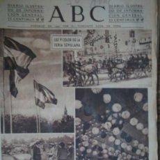 Coleccionismo de Los Domingos de ABC: ABC DIARIO ILUSTRADO DE INFORMACION GENERAL. Nº11598 ABRIL DE 1943. Lote 5574687