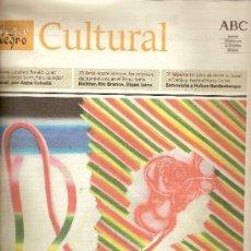 Coleccionismo de Los Domingos de ABC: 'BLANCO Y NEGRO CULTURAL' DE ABC, Nº 626. 24 DE ENERO DE 2004.. Lote 5944146