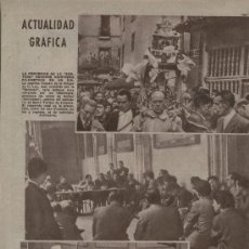 Coleccionismo de Los Domingos de ABC: PERIODICO ABC 1955 PROCESION DE LA SANTUCA ANIEZO SANTANDER CAMPO DE MIRRA CIRCO AMERICANO. Lote 7852541