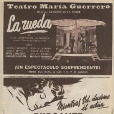 Coleccionismo de Los Domingos de ABC: ABC 1955 ALMACENES SEPU RENAULT TRACTOR SHEPPARD PIRANDELLO YER CONCAFE PUENTE DE VALLECAS CINE. Lote 7855584