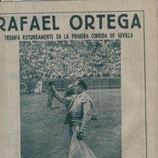 Coleccionismo de Los Domingos de ABC: ABC 1955 REGATA MIAMI-NASSAU TORERO RAFAEL ORTEGA SEVILLA MERCEDES BENZ CINE MAS FUERTE QUE LA LEY. Lote 7856023
