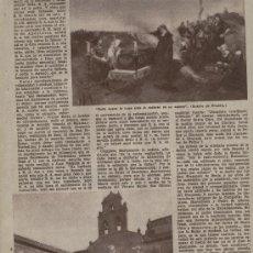 ABC 1955. MUERTE DE JUANA LA LOCA TORDESILLAS PUBLICIDAD CHARTREUSE.TARRAGONA BALNEARIO DE ACHENA