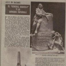 Coleccionismo de Los Domingos de ABC: ABC 1955 GENERAL BARCELO TOMAS VILA CORSARIOS DE IBIZA AUSTIN PAÑOS FONTCUBERTA INSECTICIDA RIMM. Lote 8014061