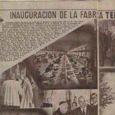 Coleccionismo de Los Domingos de ABC: ABC 1955 TELEFUNKEN EN MADRID PERTHUS MORILES MONTILLA TULIPAN CHOCOLATES CHOBIL BILBAO CINE RIFLES. Lote 8014159