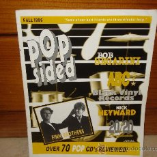 Coleccionismo de Los Domingos de ABC: POPSIDED ISSUE 3 - VOL. 1 - OTOÑO 1996 - CON BOB SEGARINI, ABC, 20/20, ETC. Lote 8827807