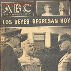 Coleccionismo de Los Domingos de ABC: ABC – MADRID DOMINGO 6 DE JUNIO DE 1976. Lote 10862776