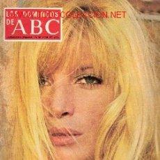 Coleccionismo de Los Domingos de ABC: LOS DOMINGOS DE ABC - PORTADA MONICA VITTI - AÑO 1974. Lote 10780768