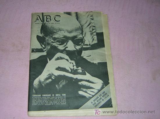 REVISTA ABC (Coleccionismo - Revistas y Periódicos Modernos (a partir de 1.940) - Los Domingos de ABC)