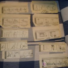Coleccionismo de Los Domingos de ABC: ABC , 10 RECORTES DE DISTINTOS DIAS DE HUMOR 1984 . Lote 12058765