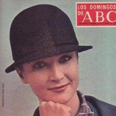 Coleccionismo de Los Domingos de ABC: LOS DOMINGOS DEL ABC (1975) BELLEZA Y ELEGANCIA DE LA MUJER. Lote 14462228