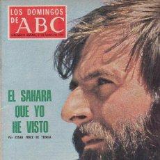 Coleccionismo de Los Domingos de ABC: LOS DOMINGOS DEL ABC (1975) PEREZ DE TUDELA, MANOLETE, DIANA ROSS, TRIANGULO DEL DIABLO ( BERMUDAS). Lote 14463134