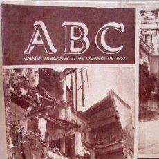 Coleccionismo de Los Domingos de ABC: ABC DE 23 DE OCTUBRE DE 1957, RIADA DE VALENCIA. Lote 15321020