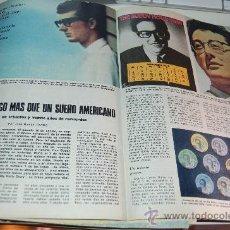 Coleccionismo de Los Domingos de ABC: BUDDY HOLLY. GRAN REPORTAJE ILUSTRADO DE 1978. Lote 20084566