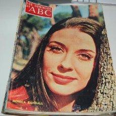Coleccionismo de Los Domingos de ABC: MÓNICA RANDALL: GRAN ENTREVISTA DE 1971. Lote 27483435