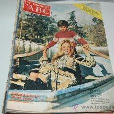Coleccionismo de Los Domingos de ABC: CARMEN SEVILLA. GRAN ENTREVISTA DE 1972. Lote 27504650