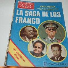 Coleccionismo de Los Domingos de ABC: LA MARCHA VERDE Y LA SAGA DE LOS FRANCO. GRANDES REPORTAJES DE 1975. Lote 27504644