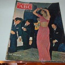 Coleccionismo de Los Domingos de ABC: LA POLACA. GRAN ENTREVISTA DE 1970. Lote 27504646