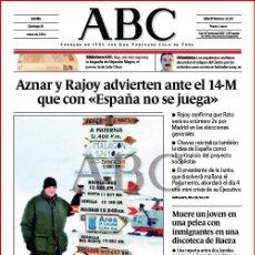 Coleccionismo de Los Domingos de ABC: DIARIO 'ABC', Nº 32187. 18 DE ENERO DE 2004. JUAN CARLOS I EN LA ANTÁRTIDA EN PORTADA.. Lote 16408164