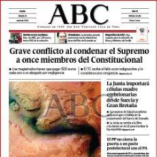 Coleccionismo de Los Domingos de ABC: DIARIO 'ABC', Nº 32193. 24 DE ENERO DE 2004. AGUA EN MARTE EN PORTADA.. Lote 16408273