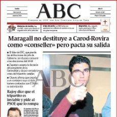Coleccionismo de Los Domingos de ABC: DIARIO 'ABC', Nº 32197. 28 DE ENERO DE 2004. REYES Y ARSENAL EN PORTADA.. Lote 16408343