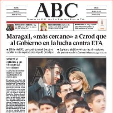 Coleccionismo de Los Domingos de ABC: DIARIO 'ABC', Nº 32200. 31 DE ENERO DE 2004. PRÍCIPE DE ESPAÑA EN PORTADA.. Lote 16408373