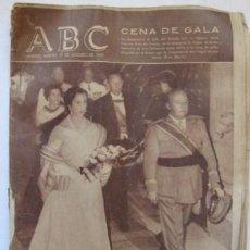 Collectionnisme de Los Domingos de ABC: PERIODICO -ABC- AÑO DE 1957. PUBLICIDAD EN VALENCIANO. SIN CENSURA¡¡¡ ... ENVIO GRATIS¡¡¡. Lote 22008625