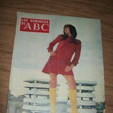Coleccionismo de Los Domingos de ABC: LOS DOMINGOS DE ABC, SUPLEMENTO SEMANAL, 20 DE OCTUBRE DE 1968-PORTADA : SONIA BRUNO. Lote 17695498