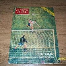 Coleccionismo de Los Domingos de ABC: LOS DOMINGOS DE ABC, SUPLEMENTO SEMANAL, 14 DE OCTUBRE DE 1973-PORTADA : EL GOL DE PROTAGONISTA A-. Lote 17695712