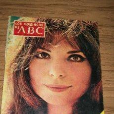 Coleccionismo de Los Domingos de ABC: LOS DOMINGOS DE ABC, SUPLEMENTO SEMANAL, 8 DE DICIEMBRE DE 1968-PORTADA : MARÍA CUADRA. Lote 17707153