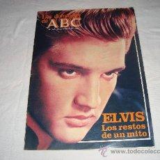 Coleccionismo de Los Domingos de ABC: LOS DOMINGOS DE ABC ELVIS LOS RESTOS DE UN MITO AGOSTO 1982. Lote 27034518