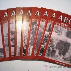Coleccionismo de Los Domingos de ABC: ABC 1936-1939 DOBLE DIARIO GUERRA CIVIL - LOTE 10 NUMS. Lote 18011982