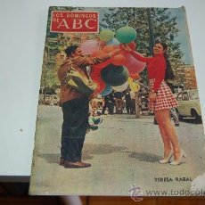 Coleccionismo de Los Domingos de ABC: TERESA RABAL. Lote 26898431
