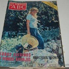 Coleccionismo de Los Domingos de ABC: MERCEDES ALONSO. Lote 26356718