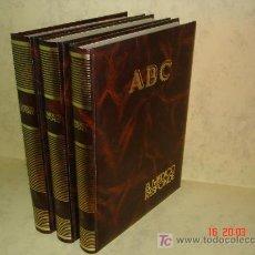 Coleccionismo de Los Domingos de ABC: EL MEDICO RESPONDE - TOMOS I, II Y III - ABC - ORIGINAL - COMPLETO Y ENCUADERNADO . Lote 26245985
