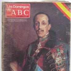 Coleccionismo de Los Domingos de ABC: PERIODICO - ABC- 1980 - HOY COMO AYER. VIVA EL REY. ENVIO GRATIS¡'¡¡. Lote 19652804