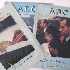 Coleccionismo de Los Domingos de ABC: PERIODICOS COLECCIONABLES. - ABC - VIDA DE FRANCO. ENVIO GRATIS¡'¡¡. Lote 19652836