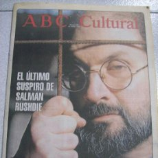 Coleccionismo de Los Domingos de ABC: ABC CULTURAL Nº207 / 6 OCTUBRE 1995. Lote 19959059