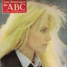 Coleccionismo de Los Domingos de ABC: LOS DOMINGOS DE ABC 19 DEAGOSTO DE1984 PORTADA DARYL HANNAH. Lote 23848450