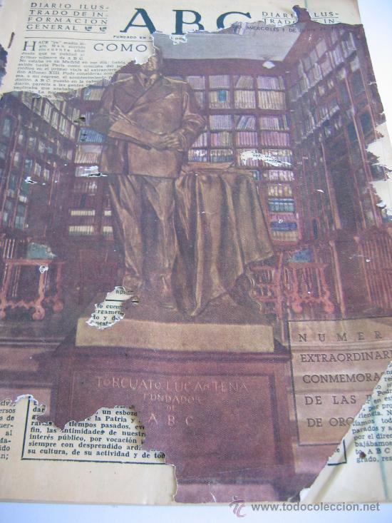 ABC. AÑO 1955.CINCUENTENARIO DEL DIARIO. (Coleccionismo - Revistas y Periódicos Modernos (a partir de 1.940) - Los Domingos de ABC)