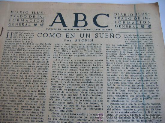 Coleccionismo de Los Domingos de ABC: ABC. AÑO 1955.CINCUENTENARIO DEL DIARIO. - Foto 2 - 27180422
