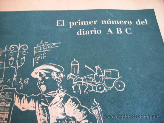 Coleccionismo de Los Domingos de ABC: ABC. AÑO 1955.CINCUENTENARIO DEL DIARIO. - Foto 5 - 27180422