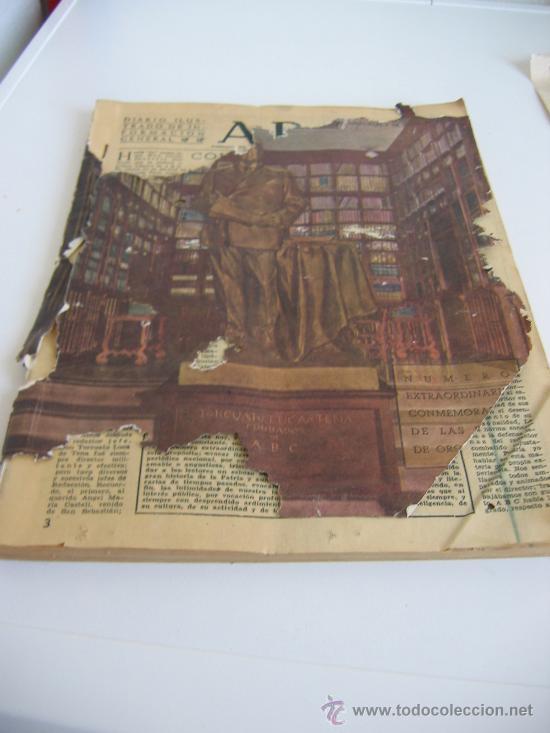 Coleccionismo de Los Domingos de ABC: ABC. AÑO 1955.CINCUENTENARIO DEL DIARIO. - Foto 12 - 27180422