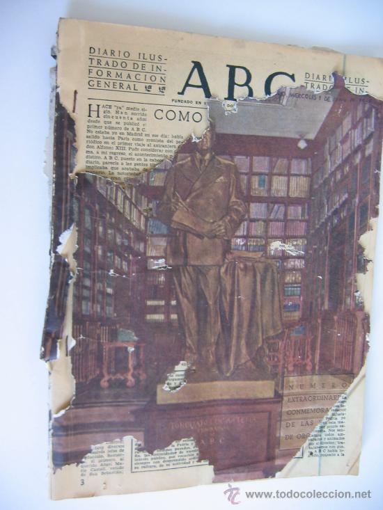 Coleccionismo de Los Domingos de ABC: ABC. AÑO 1955.CINCUENTENARIO DEL DIARIO. - Foto 14 - 27180422