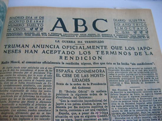 Coleccionismo de Los Domingos de ABC: ABC. AÑO 1955.CINCUENTENARIO DEL DIARIO. - Foto 9 - 27180422