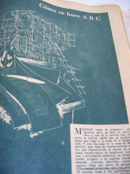 Coleccionismo de Los Domingos de ABC: ABC. AÑO 1955.CINCUENTENARIO DEL DIARIO. - Foto 11 - 27180422