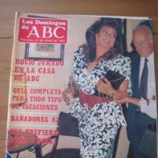 Coleccionismo de Los Domingos de ABC: 1 SUPLEMENTO LOS DOMINGOS DE ABC 1987, ROCIO JURADO. Lote 21698819